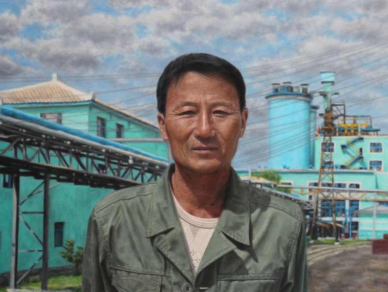 North Korea portraits